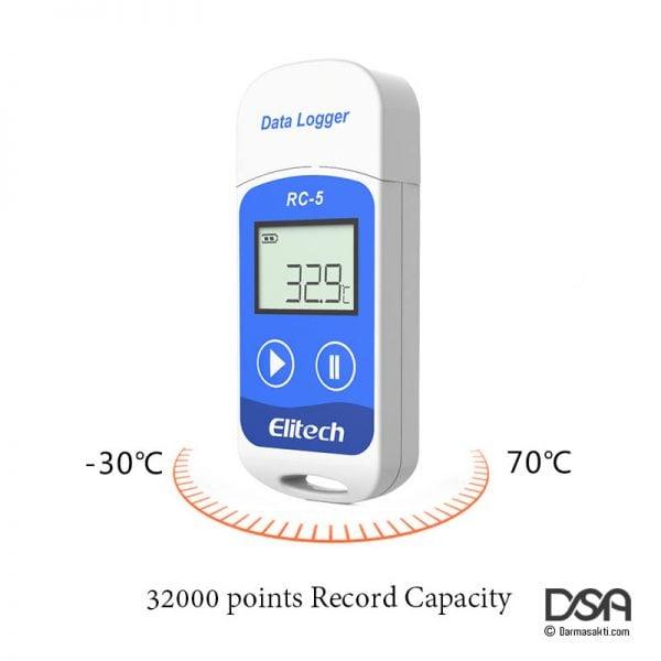Temperature Elitech RC-5 USB Logger