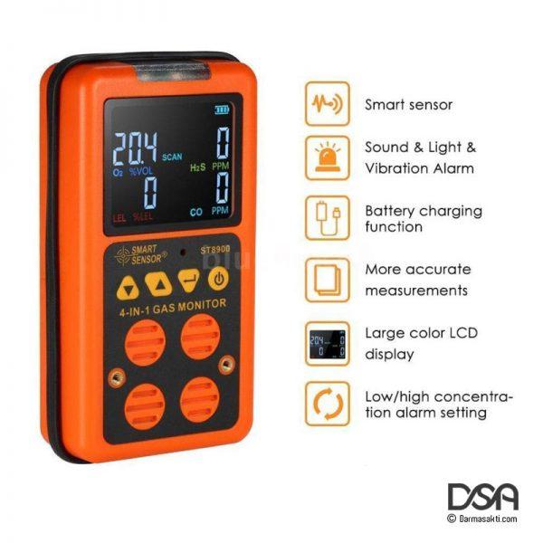 Fitur Smart Sensor ST8900