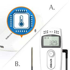 Internal Sensor & External Sensor