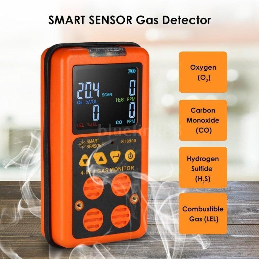 Fitur Smart Sensor ST8900 4 in 1