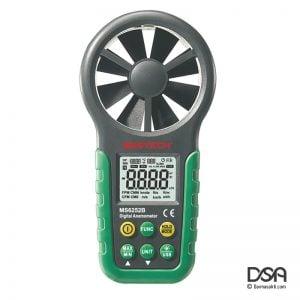 mastech ms6252b digital anemometer