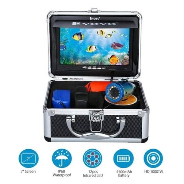 Underwater Fishing Camera Eyoyo 7 Display