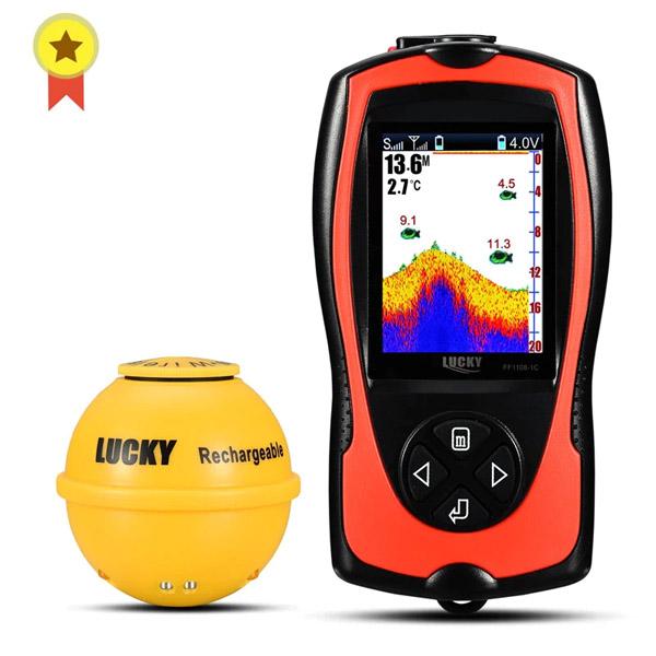 Wireless Fish Finder LUCKY FF1108-1CWLA